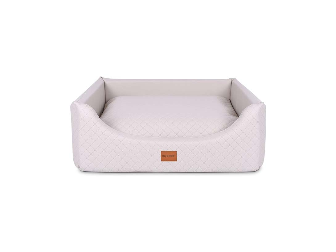 orthopädisches Hundebett Padsforall Modell Alma in creme